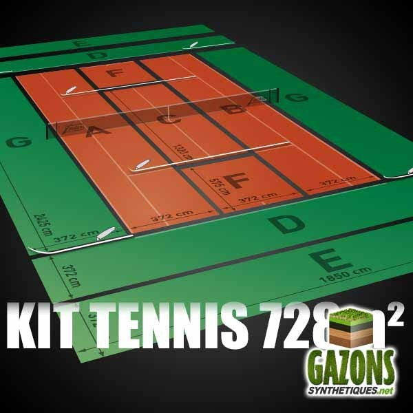 Kit Tennis 12 mm