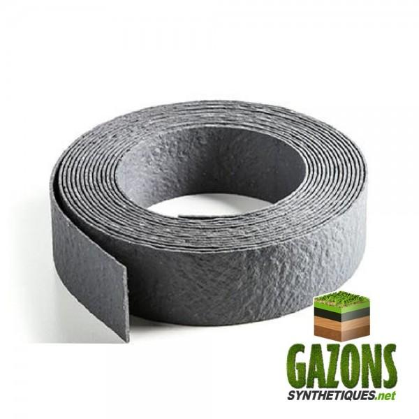 Bordure de jardin en PVC gris