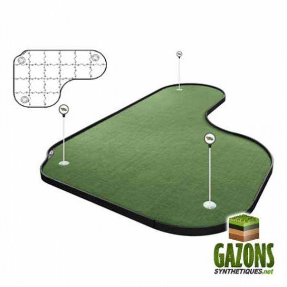 Kit Golf - 19 paneaux - Putting Green