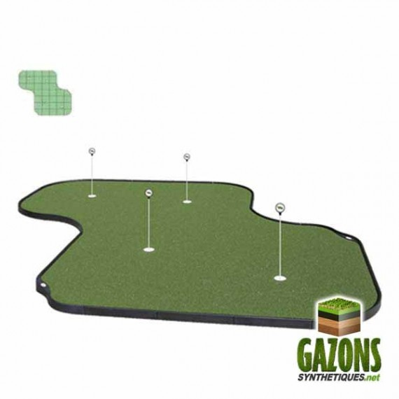 Kit Golf - 37 paneaux - Putting Green